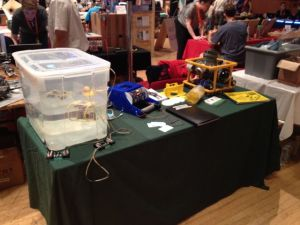 Brighton Maker Faire Stand