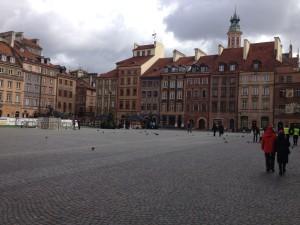 Square in Warsaw