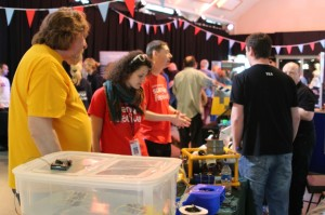 Stand at Edinburgh Mini Maker Faire